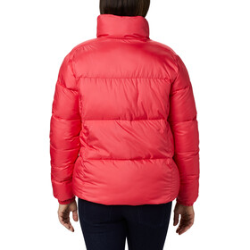 Columbia Puffect Jacket Women, bright geranium